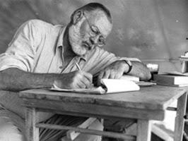 Hemingway, escritor fetiche.
